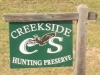 Creekside Hunting Preserve